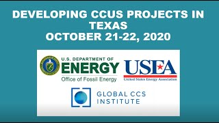 Developing CCS Projects in Texas - Part One