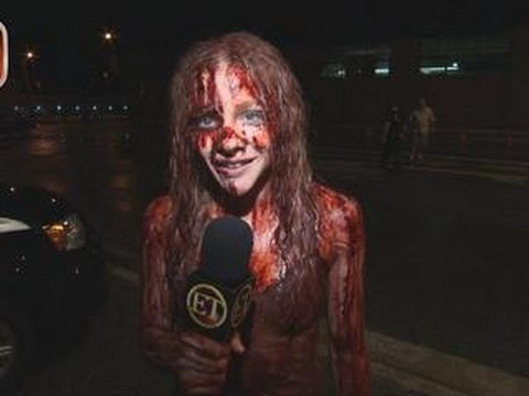 ET to GO: What's in That Fake 'Carrie' Blood?