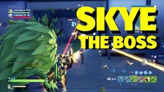 Fortnite: Knocked down Skye, get Shark Keycard & open Vault at The Shark | Fortnite Battle Royale
