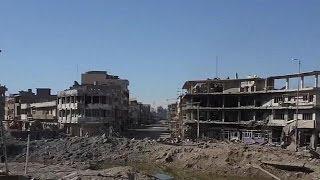 Кадры из Мосула уничтожения