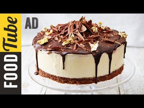 Black Forest Frozen Cheesecake Recipe | Jamie Oliver