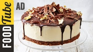 Black Forest Frozen Cheesecake Recipe | Jamie Oliver