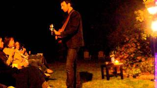 "Ari Hest, Private Show, Easton CT Sept 2011 ""one track mind"""