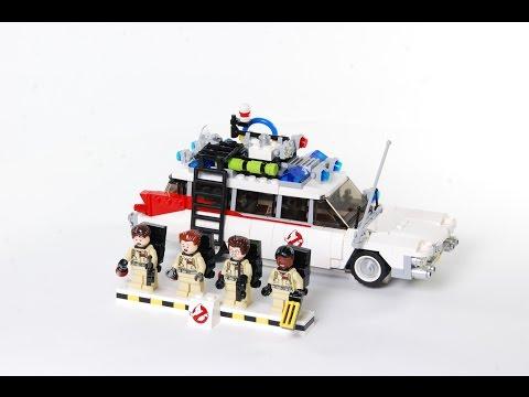Vidéo LEGO Ideas 21108 : SOS Fantômes