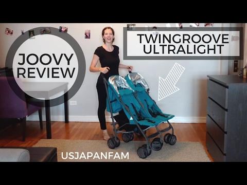 Joovy TwinGroove Ultralight Double Stroller Review