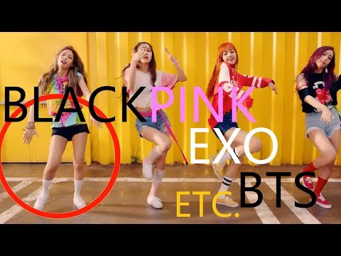 MISTAKES IN KPOP MUSIC VIDEOS (BTS, BLACKPINK, EXO, TWICE, ETC.)