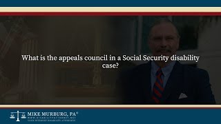 Video thumbnail: What is the appeals council in a Social Security disability case?