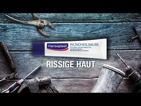 Hansaplast | Wundheilsalbe für Wunden und geschädigte Haut