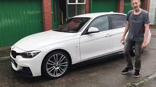 How to use Carpro Iron X on my  white BMW F30 320i OMG!