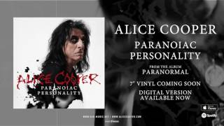 <b>Alice Cooper</b> Paranoiac Personality Official Song Stream From The Album Paranormal