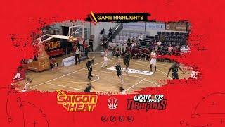 Highlight ABL9 || Home - Game 6: Saigon Heat vs Westports Malaysia Dragons 09/12