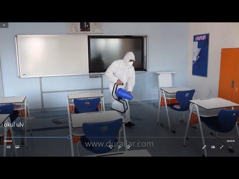Okul ve Sınıflar İçin Dezenfekte Ulv Makinesi