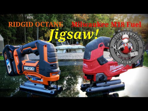 Milwaukee M18 Fuel Jigsaw vs RIDGID OCTANE Jigsaw (Tool Duel) Episode #1 Which would you choose?