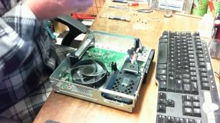 xbox 360 E How to properly open clean & Repast without damage