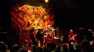 Anthrax - Earth on Hell - Town Ballroom, Buffalo, NY. November 15, 2011  11/15/11