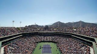 The world's second-largest tennis stadium