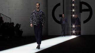 Giorgio Armani Fall Winter 2018-19 Mens Fashion Show
