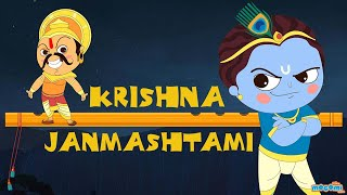 Story of Krishna Janmashtami | Krishna and Kans Story | Indian Mythology Stories by Mocomi Kids - Download this Video in MP3, M4A, WEBM, MP4, 3GP