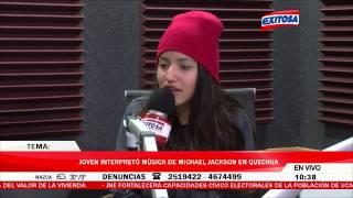 Cover De Michael Jackson En Quechua   Renata Flores - The Way You Make Me Feel