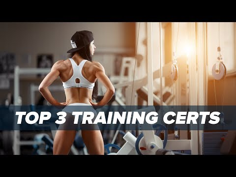 Best 3 Personal Training Certification Programs? | Tiger Fitness ...