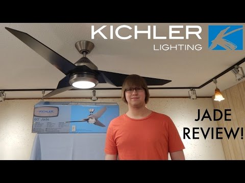 Product Review! Kichler Jade Ceiling Fan