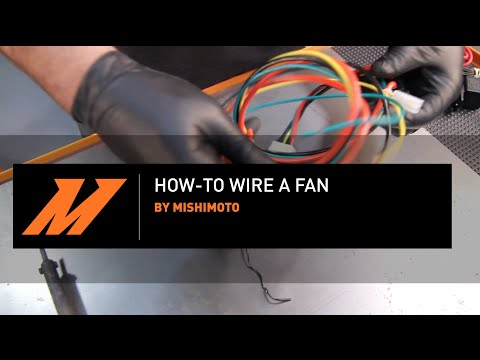 Mishimoto DIY How To Wire a Fan on