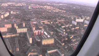 preview picture of video 'Lądowanie w Łodzi / ATR42 landing in Lodz'