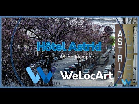 [Accueillants] WeLocArt - Hôtel Astrid Paris Arc de Triomphe