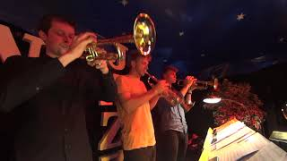 playing lead trumpet with the HKB Big Band at the International Jazzfestival Bern
