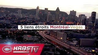 Five Montreal-Vegas connections