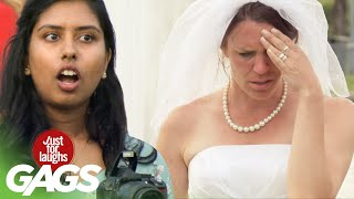 bromas broma con la novia y el fotógrafo