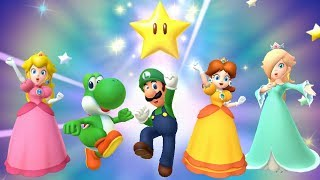 Mario Party 10 - All Super Star Animations
