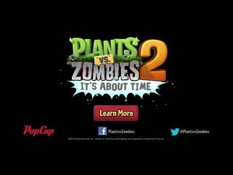 Plants vs. Zombies 2 trailer