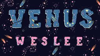 WESLEE   Venus (Audio)