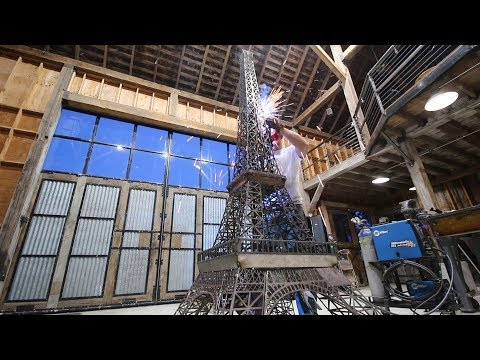 Building the Eiffel Tower (Rainfall Projects channel) [14:54]