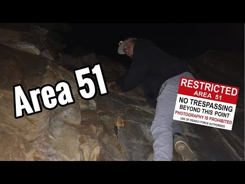 spending 24 hours at area 51...