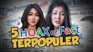 TOP 5 Hoax or Fact: Gerobak Gerak Sendiri hingga Lucinta Luna Depresi