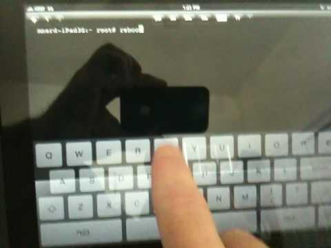 Apple iPad 3G Already Jailbroken