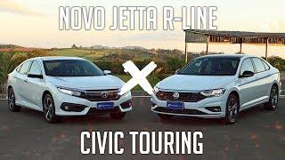 Ver o vídeo Comparativo: Novo Jetta R-Line x Civic Touring