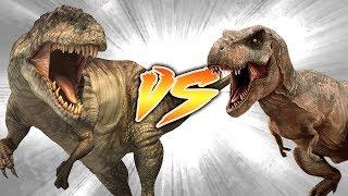 Giganotosaurus VS T. Rex [Who Would Win?]