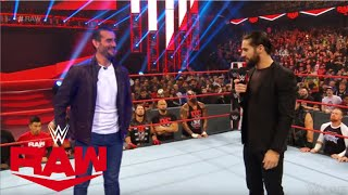 If CM Punk Made His Shocking Return To WWE | Confronts Seth Rollins | WWE Raw 11/25/19 - Edit