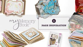 My Memory Book Tutorial - Page Inspiration 1 with Jodie Johnson