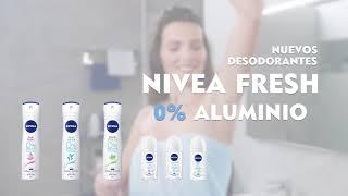 Nivea Conoce la gama NIVEA Fresh 0% Aluminio, y ¡que tu piel respire! aquí 👇 anuncio