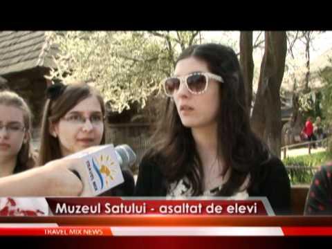 Muzeul Satului-asaltat de elevi