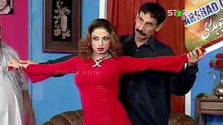 Best Of Nasir Chinyoti And Nida Choudhary New Pakistani Stage Drama Full Comedy Clip  Pk Mast 2019