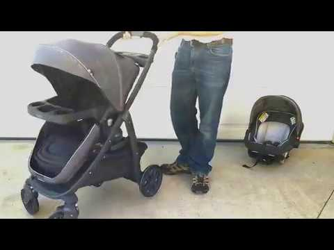 Graco Modes Bassinet Travel System, Light base, very versatile for many years of use