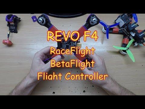 Пару слов о полетнике REVO F4