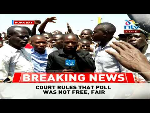 Jubilation in Homa Bay  after Court of Appeal upholds nullification of Governor Awiti's election