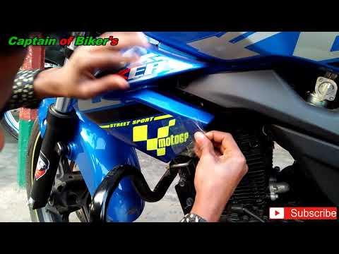 suzuki gixxer 155 motogp stickers Modified||Captain of Biker's