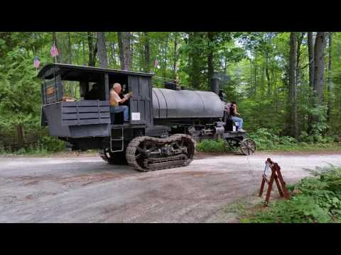 Steam powered Lombard Log Hauler